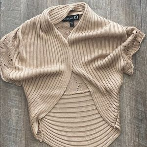 Gold Bebe knit top